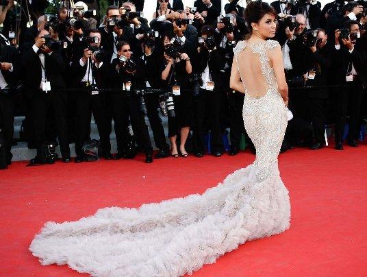 Longoria robe Cannes
